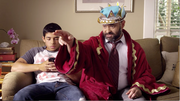 """Two other CPS Energy commercials from Beef and Pie Productions called """"King"""" (pictured) and """"Lord"""" won gold in the TV category."""