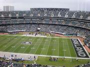 O.co Coliseum, current home of the Oakland Raiders and Oakland Athletics.