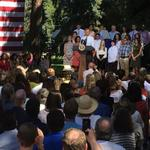 9News: Obama touts economic record in Cheesman Park speech