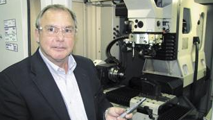 Al Choiniere, president of Superion Inc. in Xenia, has been adding new equipment and technology to boost sales of diamond-laced tools.