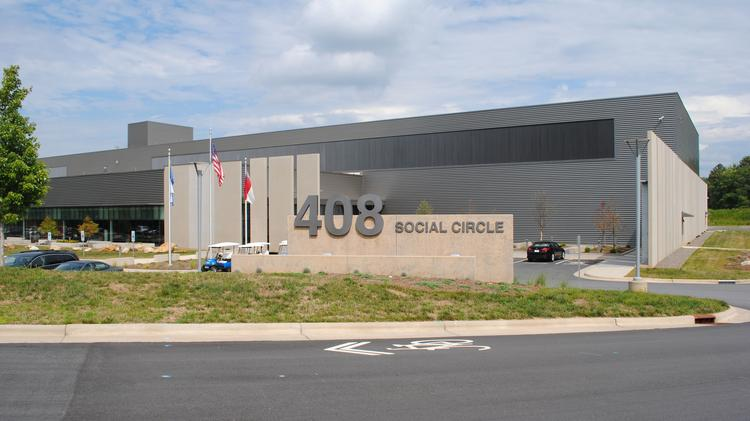 Is it perfect or what that the street in front of the social networking company Facebook's data center is named Social Circle?