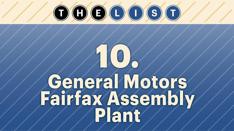 No. 10 General Motors Fairfax Assembly Plant  Local full-time-equivalent employees: 4,000  Location: Kansas City, Kan. For more information, check out the 2014 top area private-sector employers list available to KCBJ subscribers.