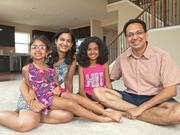 The Viswanathan family had to literally win a lottery to get their Mason home.