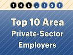Top of the List: Private-sector employers