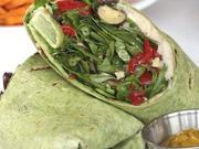 In addition to pasta, soups and sandwiches, The Mixx also features wraps.