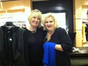 "From left, Charlotte Hegeberg and Brenda Sherrow McTiernan, both seasoned sales people in St. John Collector at the Bellevue Square Nordstrom, pause for a moment between customers. The two have worked for the company collectively almost 60 years. ""Online sales started at 4 a.m.,"" said McTiernan, "" and some things sold out right away."" ""The sale just keeps getting bigger every year,"" said Hegeberg."