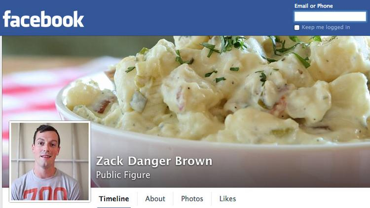 "Zack Brown created a ""public figure"" Facebook account after the social network locked him out of his personal one for using his nickname ""Danger."""