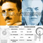 Inventor faceoff: Who wins, Edison or Tesla?