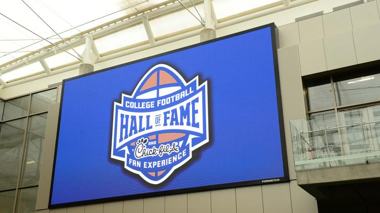College Football Hall of Fame and Chick-fil-A Fan Experience.