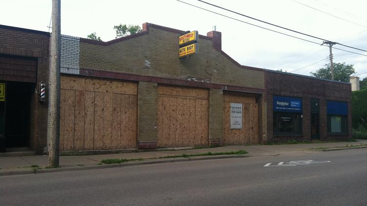 Southwest Motors Auto Body has been redeveloped and will soon be home to Latin Hills Kitchen