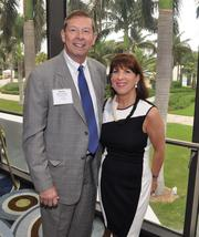 Mason Jackson of Workforce One and Lynn Goldman of Broward County Public Schools.
