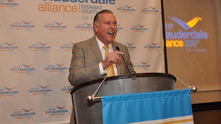 Greater Fort Lauderdale Alliance President and CEO Bob Swindell