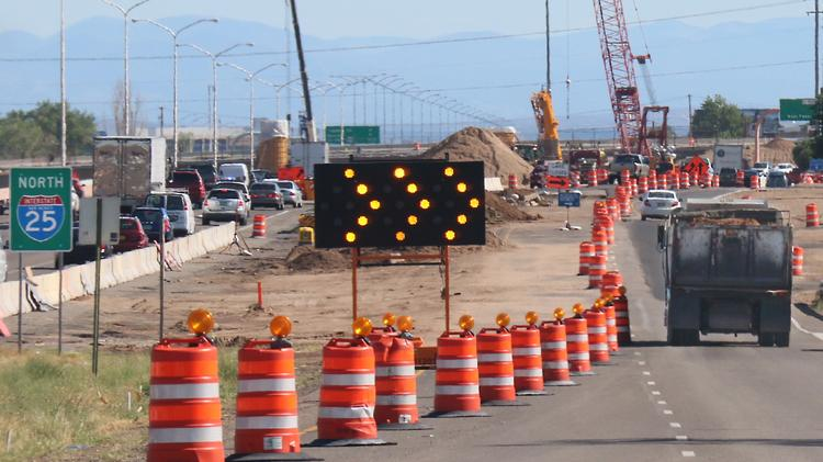 The new Jefferson Street overpass will be opened to traffic next week, marking a new phase in the reconstruction of the Paseo del Norte/I-25 interchange.