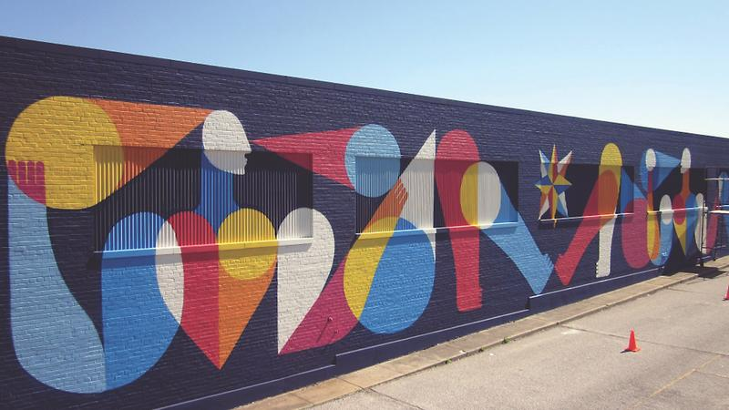 Broad Avenue mural