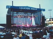 The Moody Blues with the Florida Orchestra at Legends Field in the '90s.