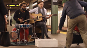 """Guitar Center's TV spot dubbed """"New York"""" by McGarrah Jessee won a gold ADDY in the television category."""