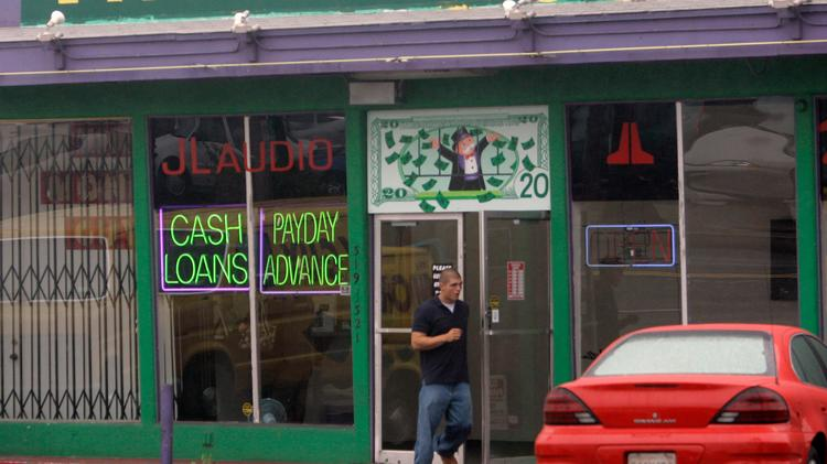 The payday loan industry has sued the government over regulatory scrutiny. The government says blame the banks.