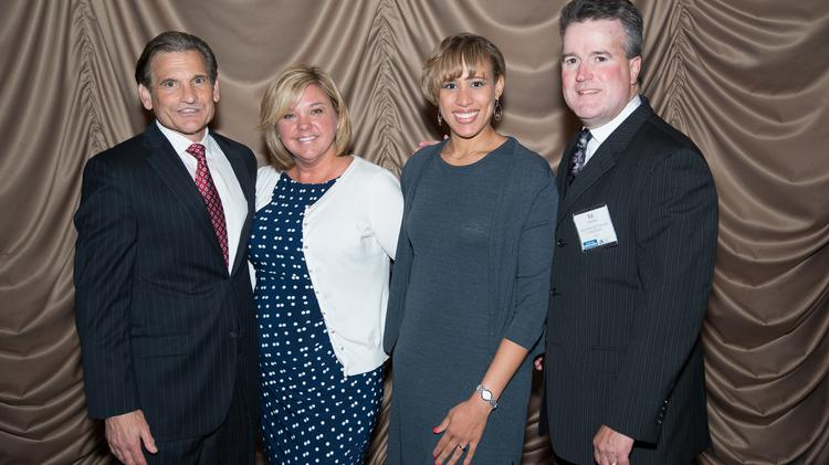 Winner Sam D'Antonio, Mercy Home Health and Mercy LIFE, with colleagues