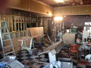 Work to do: a before picture; completion of Reno is slated for Labor Day Weekend.