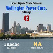 Pittsburgh Business Times Largest Private Companies list 2013