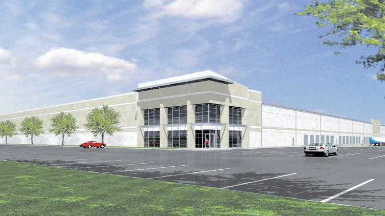 The Johnson Development site could hold a 175,000-square-foot building.