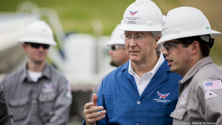Aubrey McClendon is CEO of American Energy Partners, which is making big bets on the Utica shale in Ohio.