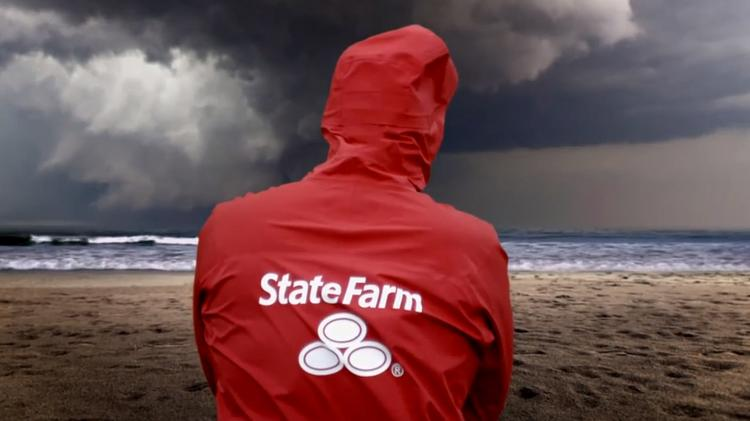 A new State Farm TV spot from DDB Chicago strikes a more serious note than the mainly humorous work the agency has done for the insurance giant.