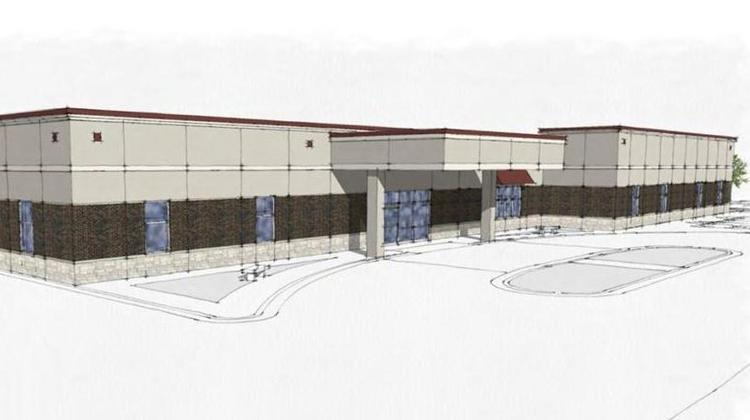 A rendering of a primary care clinic Mayo plans to open in southeast Rochester