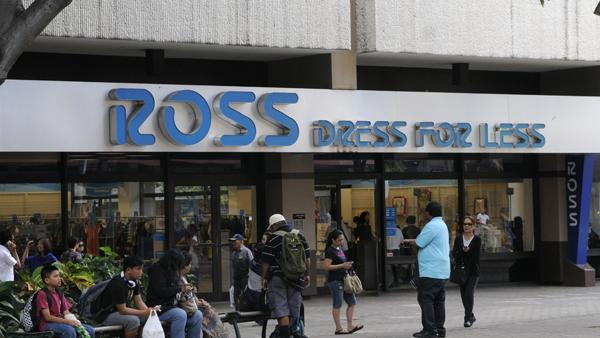 Ross Dress For Less Which Has A In Downtown Honolulu Shown Here