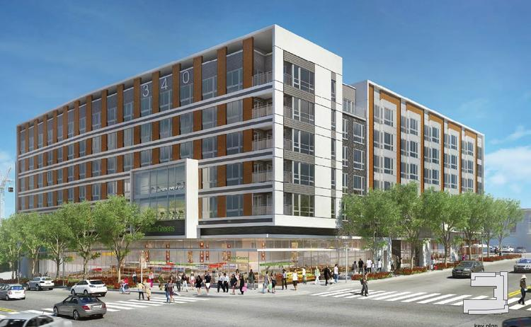 The proposed new Gateway Market Center from Edens will include no office and up to 100 more residences.