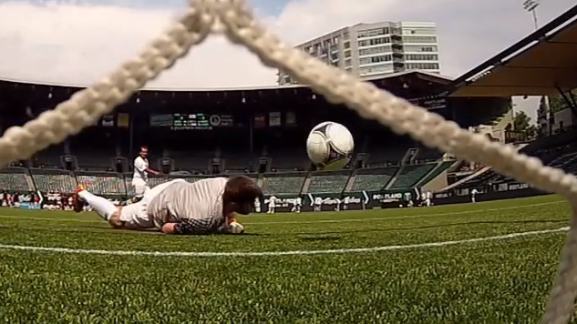 A scene from last year's Corporate Cup, a Timbers-led tournament that pits businesses against each other on the soccer pitch.