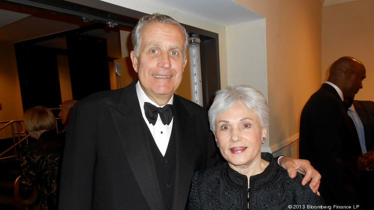 Former NFL Commissioner Paul Tagliabue and his wife, Chandler, here at the Lombardi Gala at the Washington Hilton in 2013, paid $2.8 million for a Parc Somerset condo in Chevy Chase.