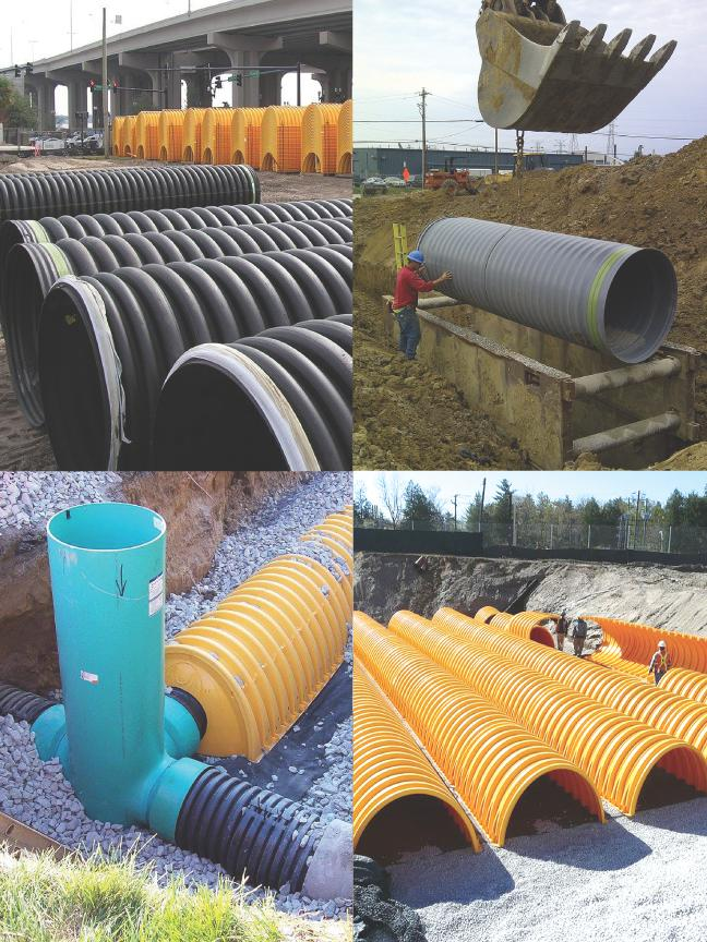 ADS makes thermoplastic corrugated pipe and has 48 manufacturing plants and 19 distribution centers in the U.S., and 10 manufacturing plants and nine distribution centers internationally.
