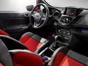 The interior of the 2014 Ford Fiesta ST.