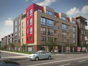 Another look at the proposed 10th Street Flats from Clark Realty Capital.