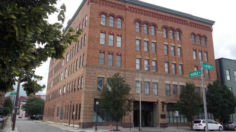 Developers are considering converting this building at 309 S. Fourth St. into residential units.
