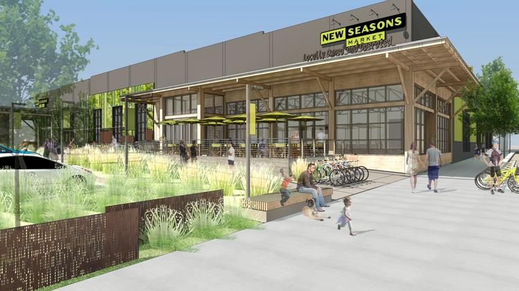 Portland-based Capstone Partners has joined with former C.E. John Inc. principals to develop Slabtown Marketplace, a $46 million, LEED-designed mixed-use project anchored by New Seasons Market at Con-way.