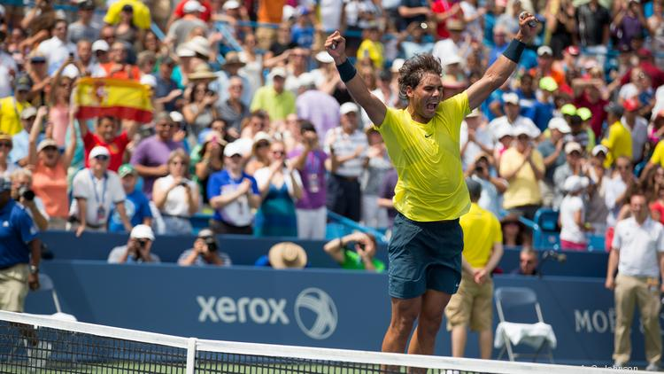Rafael Nadal has pulled out of this year's Western & Southern Open tennis tournament in the Cincinnati suburb of Mason after injuring his right wrist in practice. He is the tournament's defending champion.