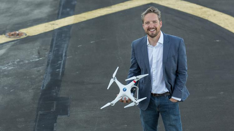 Jonathan Evans and his company Skyward IO have big plans for their latest cash infusion.