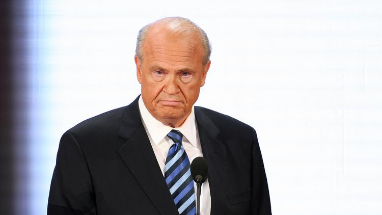 "Former Sen. Fred Thompson's new movie, ""Persecuted,"" is ""more conservative than most Hollywood movies,"" according to a Q&A with The Hollywood Reporter."