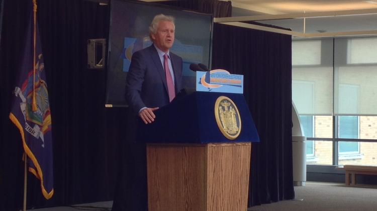 General Electric CEO Jeff Immelt visits Niskayuna, New York today for announcement of a new partnership with the state and the College of Nanoscale Science and Engineering.