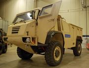The Common Vehicle is a rugged utility that has a top speed of 80 mph and can be used by special operations units in rough terrain.