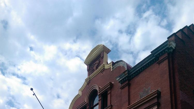 The full shot of the building at 1626 N. Capitol St. NW, formerly Engine Co. 12 and soon to be Washington Firehouse.
