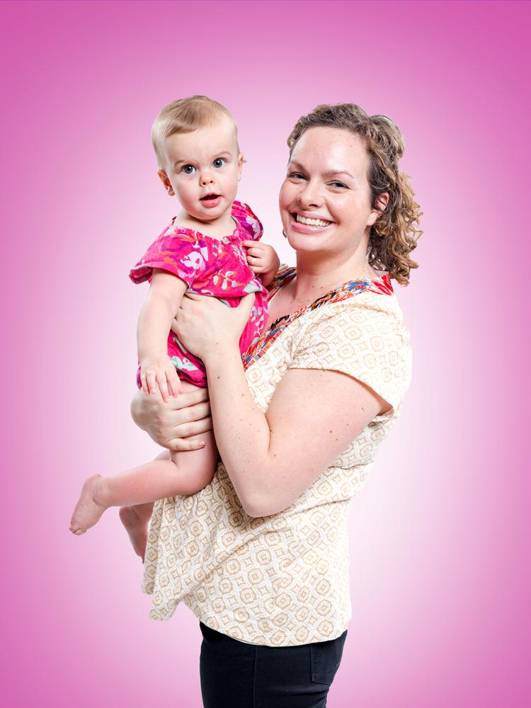 Elizabeth Glynn is the mother of three rambunctious children, including Blythe, 1.