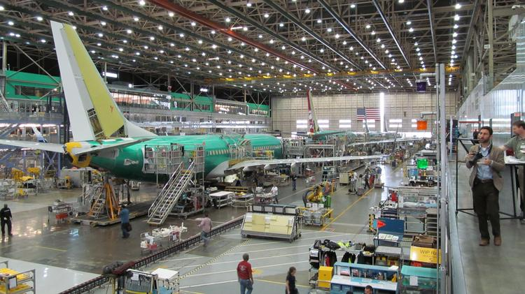 Orders for durable goods, such as aircraft, were up nearly 1 percent in June.