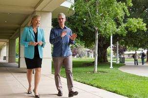IBM CEO Ginny Rometty and Apple CEO Tim Cook