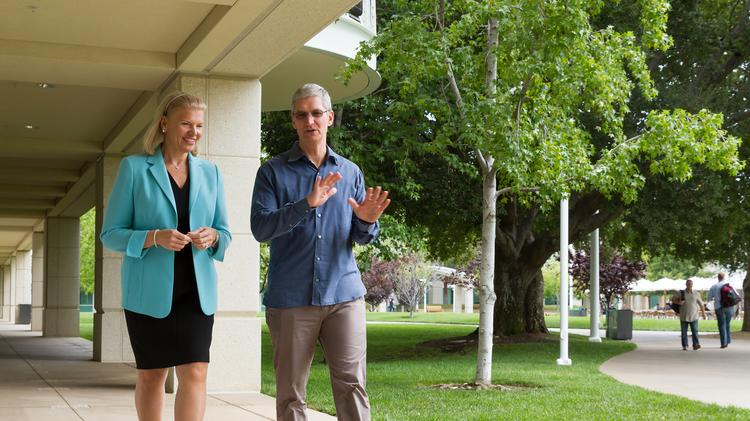 Apple and IBM announce partnership to capitalize on mobile in the business world