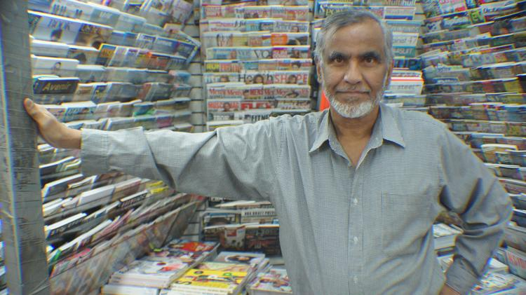 "Mohammed Ahmed, the owner of Casa Magazines: ""If this store closes, retirement is next."""