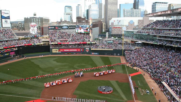 Tuesday night's MLB All-Star Game boasted near-perfect weather at Minneapolis' Target Field.