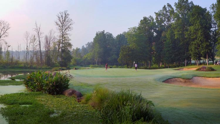 Rocky River Golf Club has been designated as a certified wildlife habitat.
